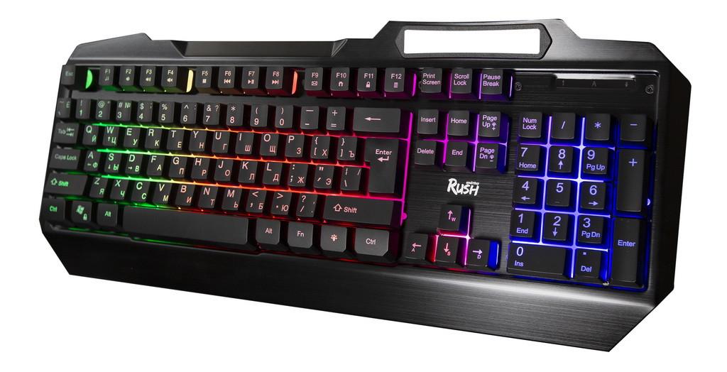 Клавиатура игровая Smartbuy RUSH Armor 310 USB черная