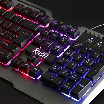 Клавиатура игровая мультимедийная Smartbuy RUSH 354 USB черная