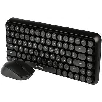 Комплект клавиатура+мышь мультимедийный Smartbuy с круглыми клавишами 626376AG
