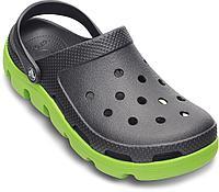 Сабо крокс Crocs Duet Sport Clog черно - зеленый