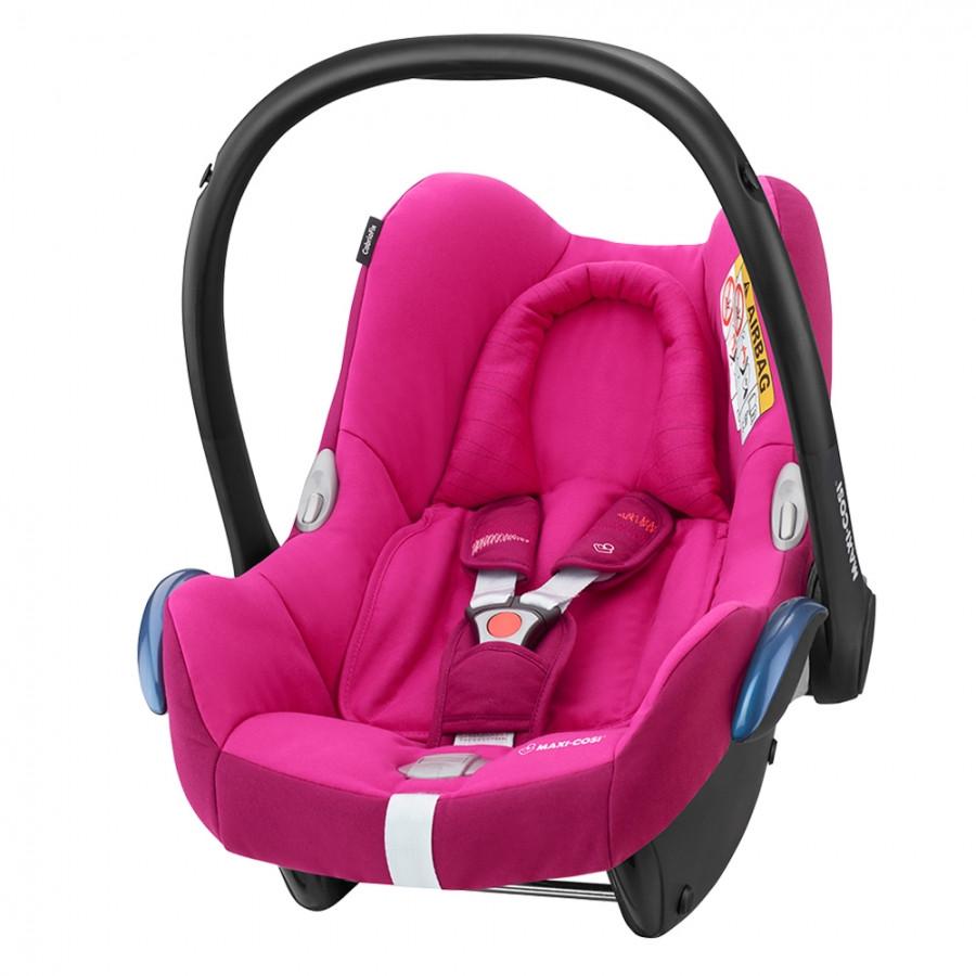 Автокресло группы 1 (0–13 кг) Maxi-Cosi CabrioFix Frequ Pink