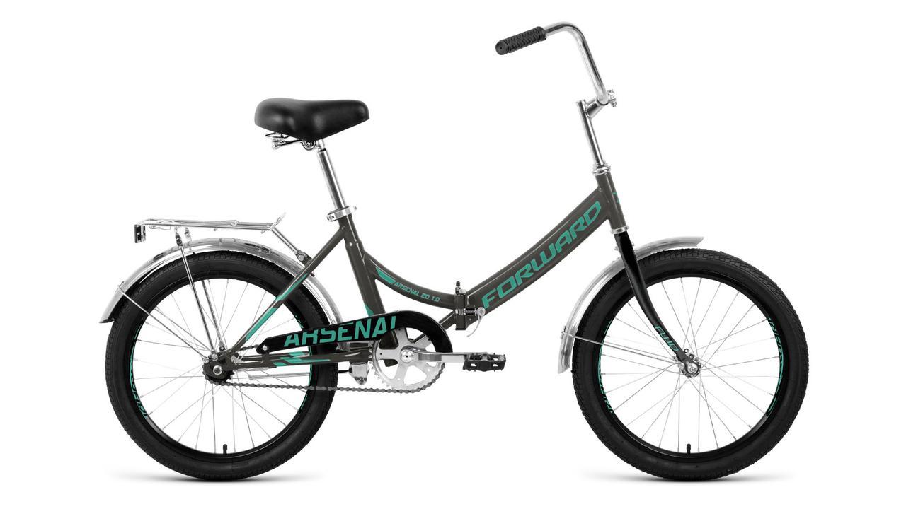 Городской складной велосипед  Forward Arsenal 20 1.0 (2020). Производство Россия