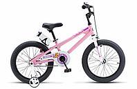 """Велосипед двухколесный FREESTYLE 16"""" Розовый ROYAL BABY"""