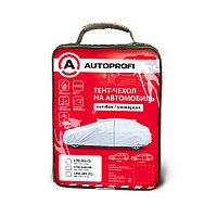 Тент-чехол для автомобиля, хетчбек (440х165х119 см.) AUTOPROFI HTB-440 (M)