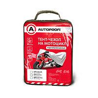 Тент-чехол для мотоцикла (208х79х122 см.) AUTOPROFI MTB-208 (M)