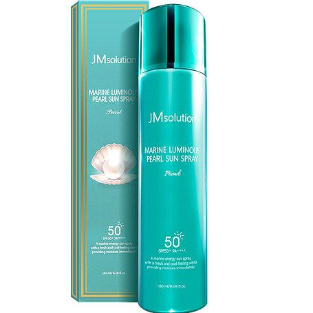 Солнцезащитный спрей-мист JMsolution Marine Luminous Pearl Sun Protection Sun Spray SPF50+PA+++ (180 ml), фото 2