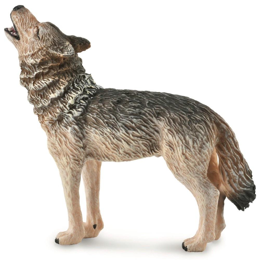Collecta Фигурка Обыкновенный волк воющий, M, 8 см