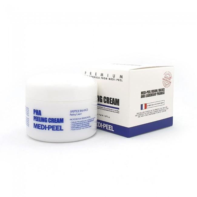 Ночной обновляющий пилинг-крем с PHA-кислотамиMEDI-PEEL PHA Peeling Cream