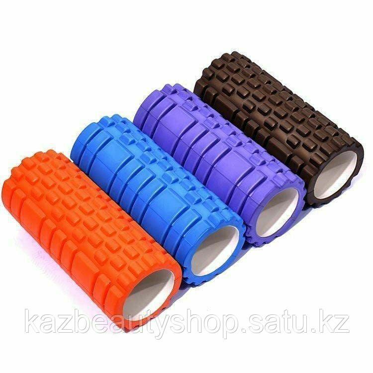 Массажный ролл для фитнеса и йоги (foam roller) - фото 5