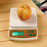Электронные кухонные весы с подсветкой до 10 кг