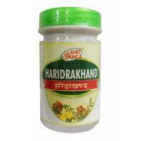 Харидракхандам 100 гр (HARIDRAKHAND) для лечения простуды, кашля, кожных проблем (SHRI GANGA)