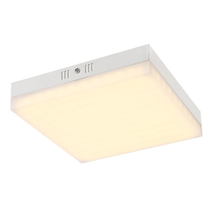 Светильник MERULA 1x24Вт LED белый 22x22x4,5см