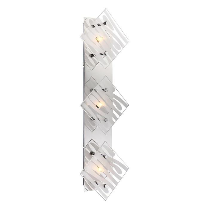 Светильник CARAT 3x33Вт G9 хром 7,8x55x17см
