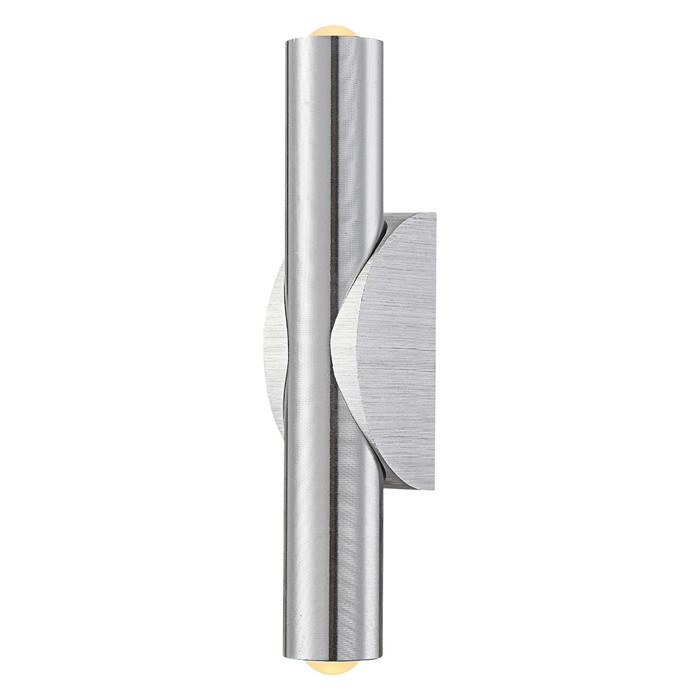 Бра SMOKEY 2x1Вт LED матовый хром 4,7x3,7x20,6см