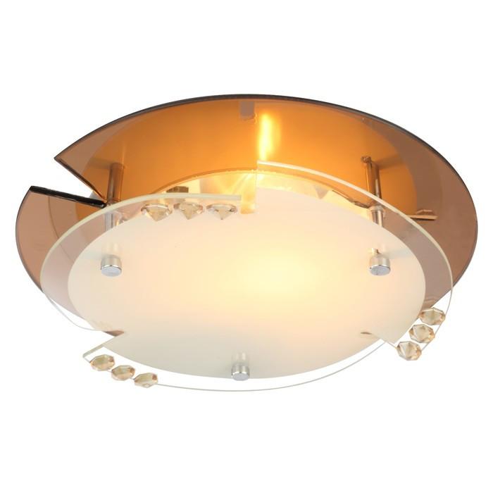 Светильник ARMENA 1x60Вт E27 ILLU хром 25x25x9,5см