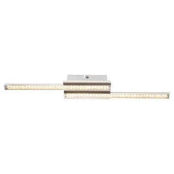 Люстра потолочная PERDITA 1x6Вт LED хром 45,8x7x4,3см