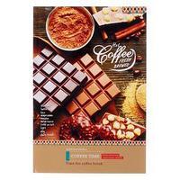 Записная книжка А4, 64 листа 'Кофе и шоколад', твёрдая обложка, глянцевая ламинация