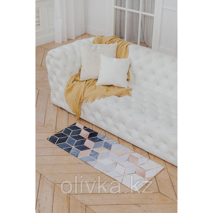 Коврик Доляна «Бурлеск», 45×120 см