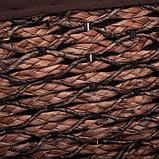 Корзина универсальная плетёная Доляна «Классика», 45×36×55 см, большая, цвет коричневый, фото 3