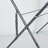 Сушилка напольная 15 м (СБВ2/С), цвет серебряный, фото 3