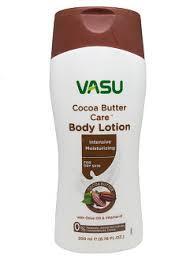 Интенсивный увлажняющий лосьон для тела Масло какао 200 мл, VASU Cocoa Butter Care Intensive Moisturizing Body