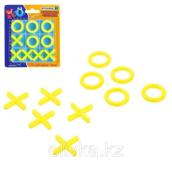 Настольная игра «Крестики-нолики», цвета МИКС
