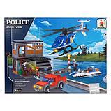 Конструктор Полиция «Погоня», 476 деталей, фото 2