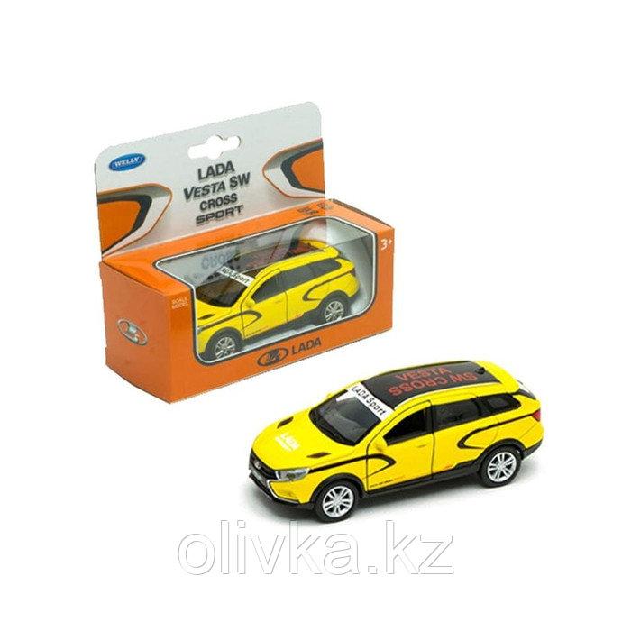 Коллекционная модель Lada Vesta SW Cross sport, масштаб 1:34-39