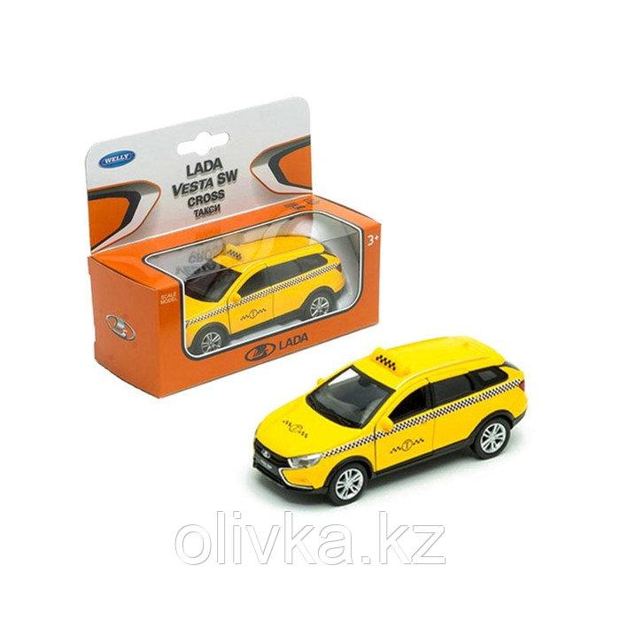 Коллекционная модель Lada Vesta SW Cross «Такси», масштаб 1:34-39