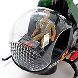 Вертолет «Спасатель», работает от батареек, световые и звуковые эффекты, МИКС, фото 5