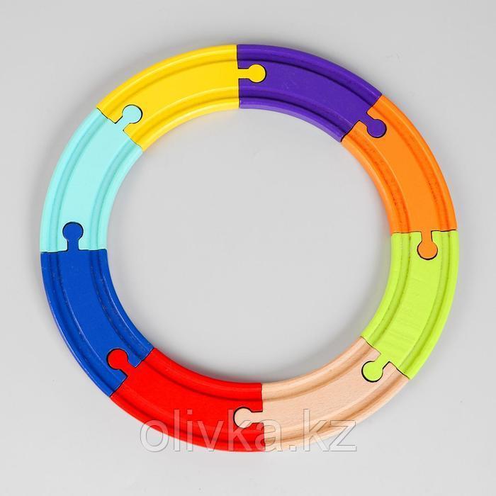 Рельсы 8 элементов 22,5×22,5×1,2 см