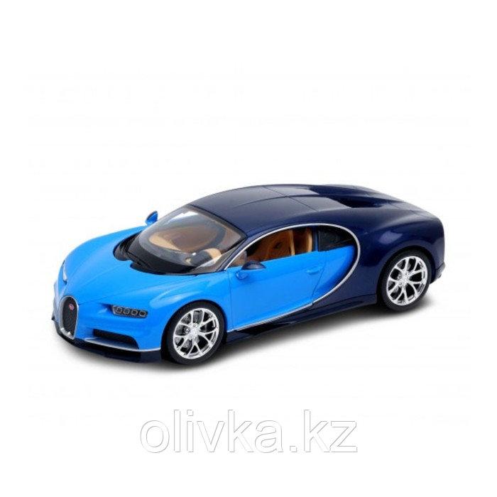 Коллекционная модель машины Bugatti Chiron, масштаб 1:24