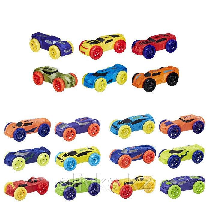 Машинки Hasbro Nerf «Нёрф нитро», 6 штук