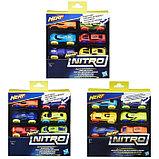 Машинки Hasbro Nerf «Нёрф нитро», 6 штук, фото 5