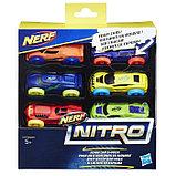 Машинки Hasbro Nerf «Нёрф нитро», 6 штук, фото 7