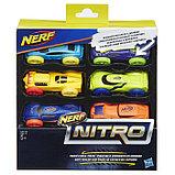 Машинки Hasbro Nerf «Нёрф нитро», 6 штук, фото 8