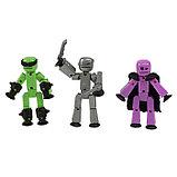 Набор Stikbot Off the Grid, Raptus, 3 фигурки, фото 2