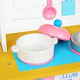 """Игровой набор """"Кухня с сердечком"""", деревянная посуда в наборе MSN17064, фото 5"""