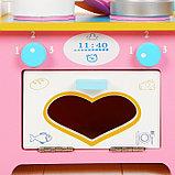 """Игровой набор """"Кухня с сердечком"""", деревянная посуда в наборе MSN17064, фото 6"""