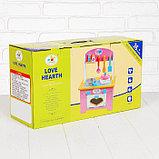 """Игровой набор """"Кухня с сердечком"""", деревянная посуда в наборе MSN17064, фото 9"""