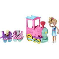 Игровой набор Barbie «Паровозик Челси»