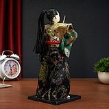 """Кукла коллекционная """"Самурай в кимоно и с повязкой"""", фото 4"""