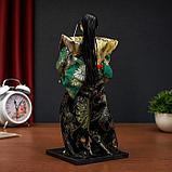 """Кукла коллекционная """"Самурай в кимоно и с повязкой"""", фото 5"""