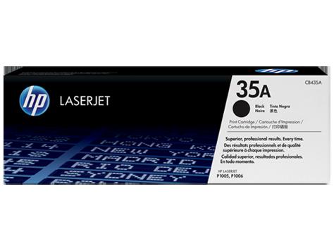 HP CB435A Картридж лазерный черный HP 35A для LaserJet P1005/P1006