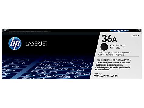 HP CB436A Картридж лазерный черный HP 36A для LaserJet P1505/M1120/M1522