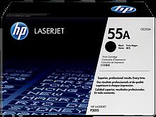 HP CE255A Картридж лазерный черный HP 55A для Laser Jet P3015/Pro 500 MFP M521/MFP M525
