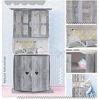 Мебель для кукол малюток «Кухонный буфет», набор для шитья, 15 × 23,2 × 2,2 см