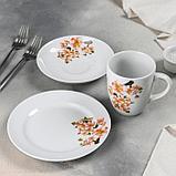 Набор посуды «Яблоневый цвет», 3 предмета, ф. Трио, фото 2