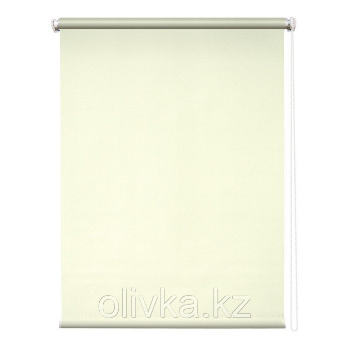 Рулонная штора «Сильвер», 40 х 175 см, блэкаут, цвет бежевый
