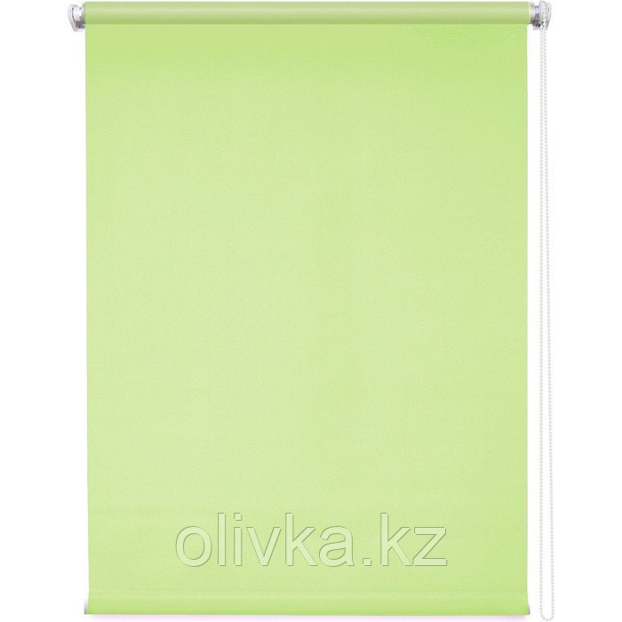 Рулонная штора «Плайн», 60 х 175 см, цвет оливковый